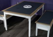 Tisch mit Bank 1